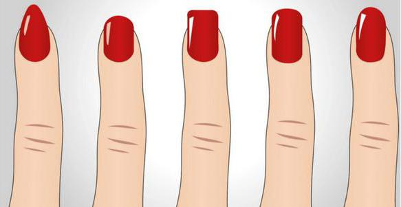как сделать форму ногтей мягкий квадрат