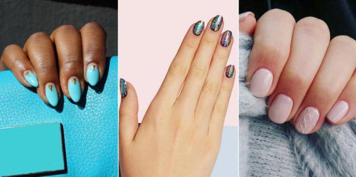какая форма ногтей для каких пальцев подходит
