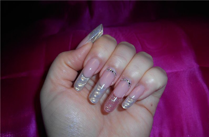 Gel on arch forms