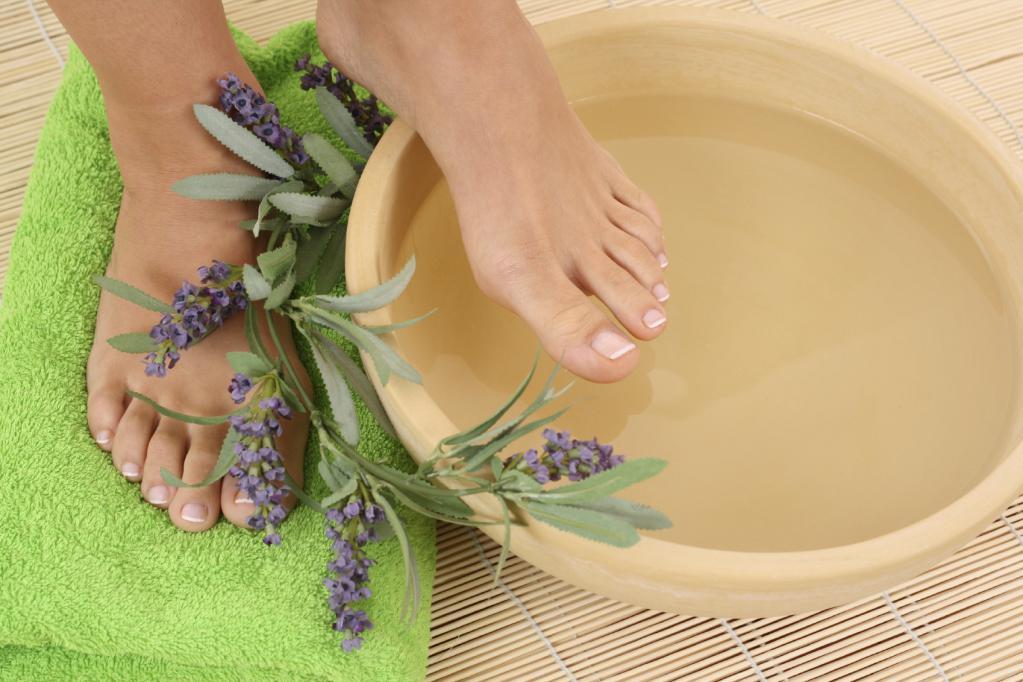 Maceration - foot bath