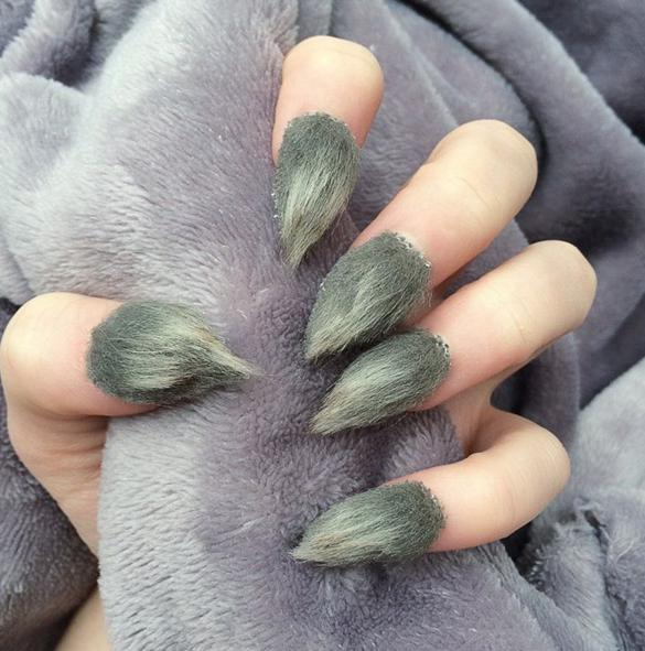The most unusual nail design