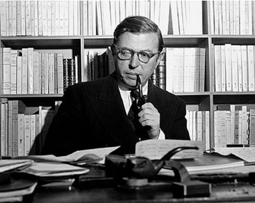 Философ Ж.П.Сартр