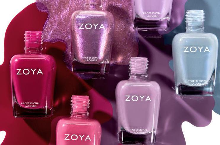 Zoya - лак для ногтей, созданный химиком для жены