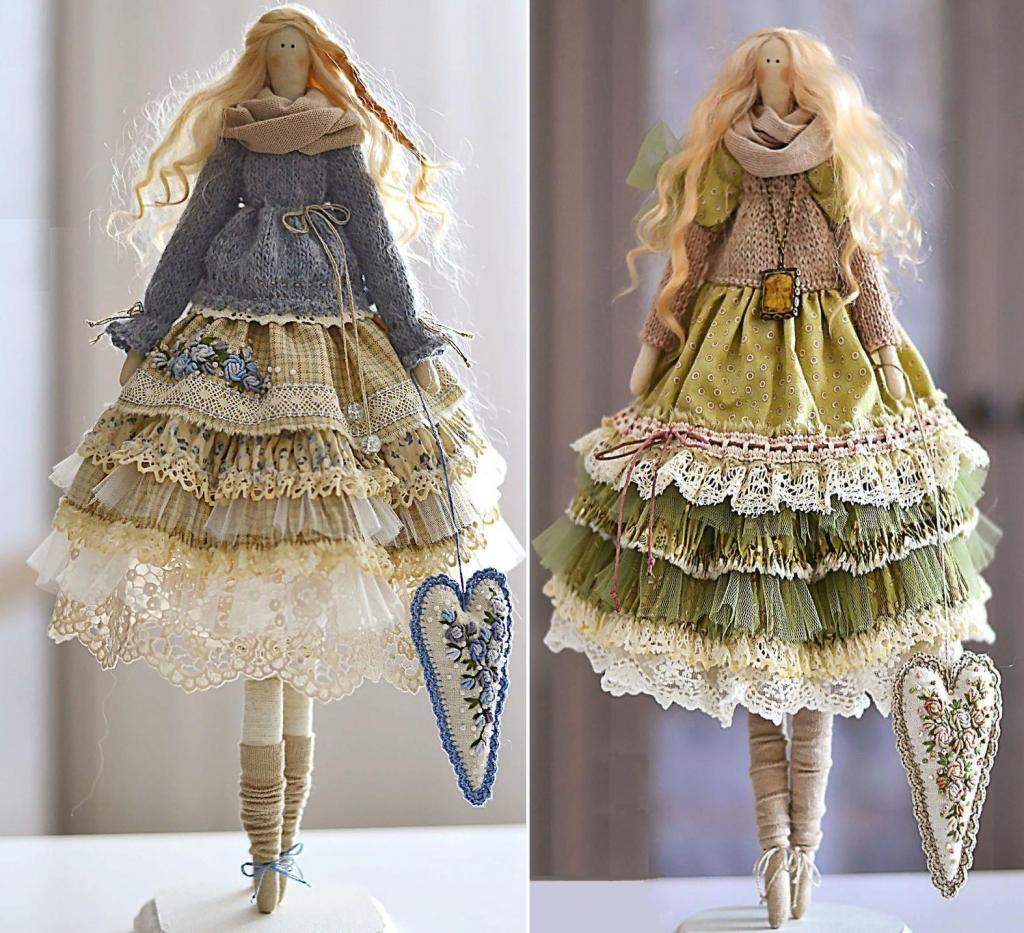 Куклы тильда своими руками с выкройками в натуральную величину