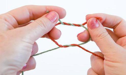 как соединить нить при вязании спицами