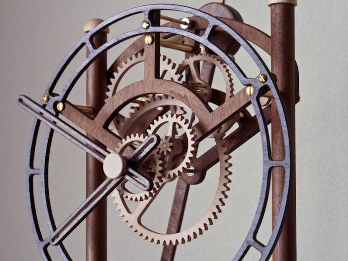 Механические часы из дерева своими руками фото 470