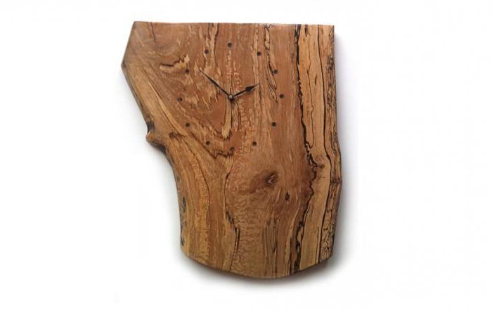часы из дерева своими руками чертежи