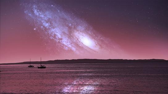 Крупнейшее столкновение галактик