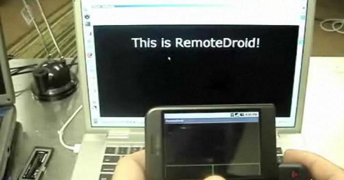 Удаленное управление андроид с компьютера