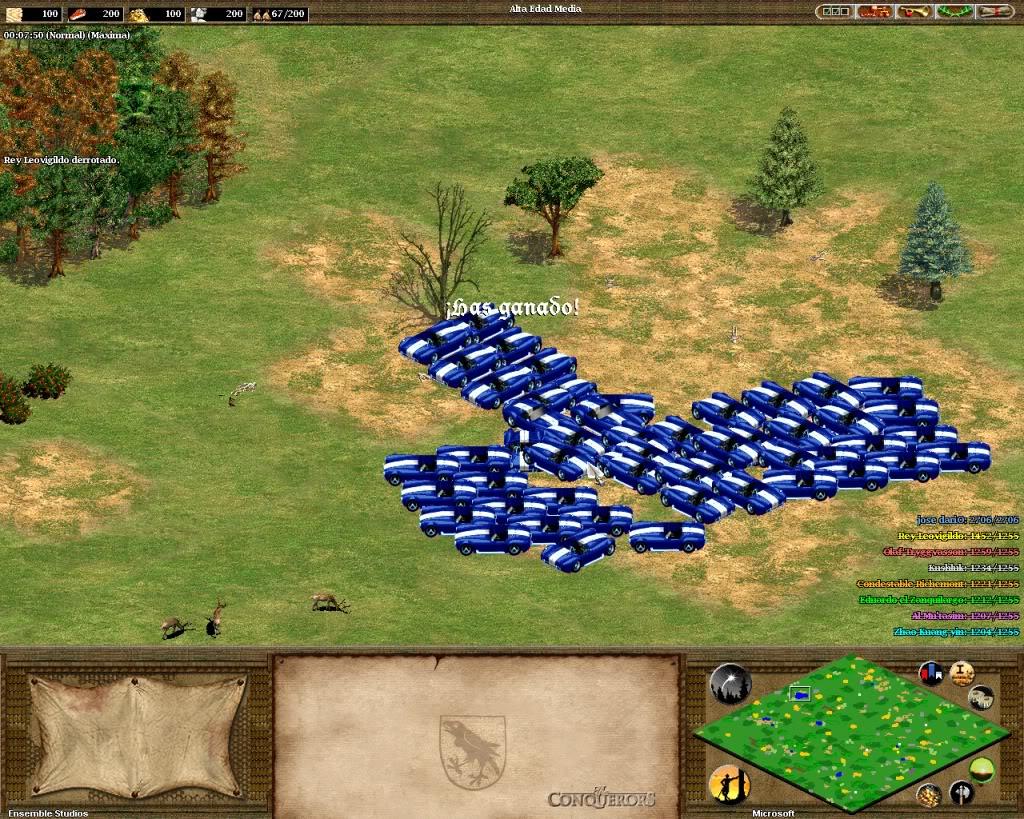 Чіти для Age of Empires 2 які полегшать проходження гри