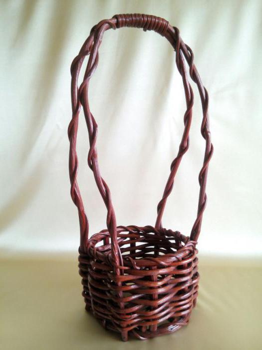 плетение корзин из ивы для начинающих пошагово