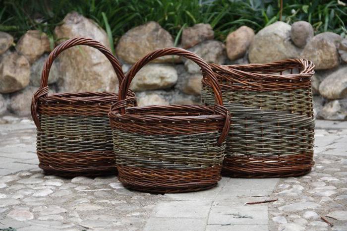 плетение корзин из ивы советы для начинающих