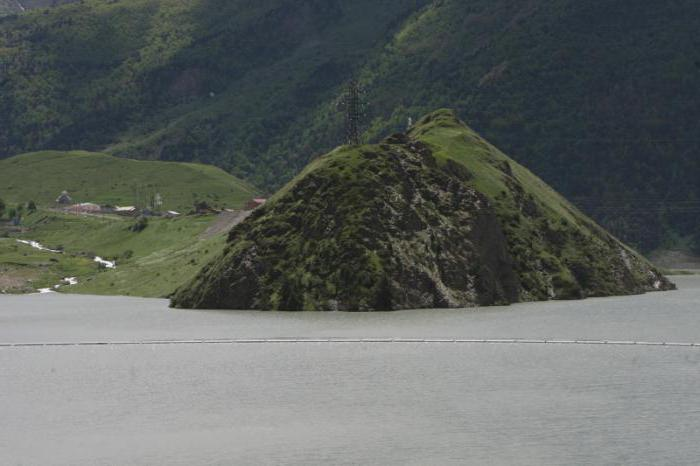 Зарамагская ГЭС, высота над уровнем моря