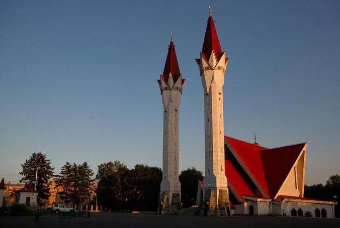 мечети уфы адреса