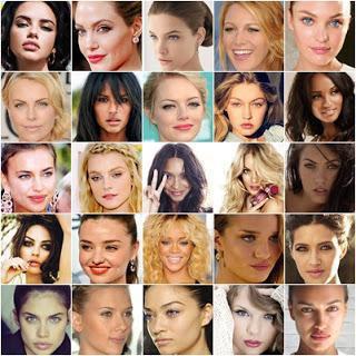 Самые красивые лица людей