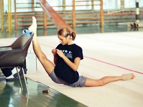 Занятие гимнастикой