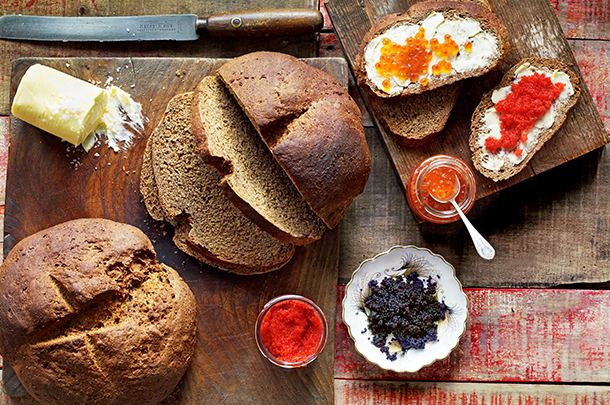 Приготовленный хлеб