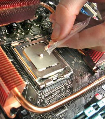 перегревается процессор и выключается