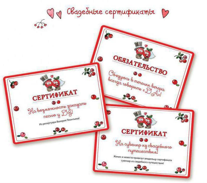 находится смешные сертификаты на свадьбу для гостей шаблоны отделка помещений натуральных