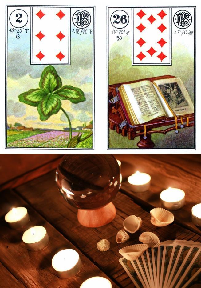 lenorman tarot meaning card timeline