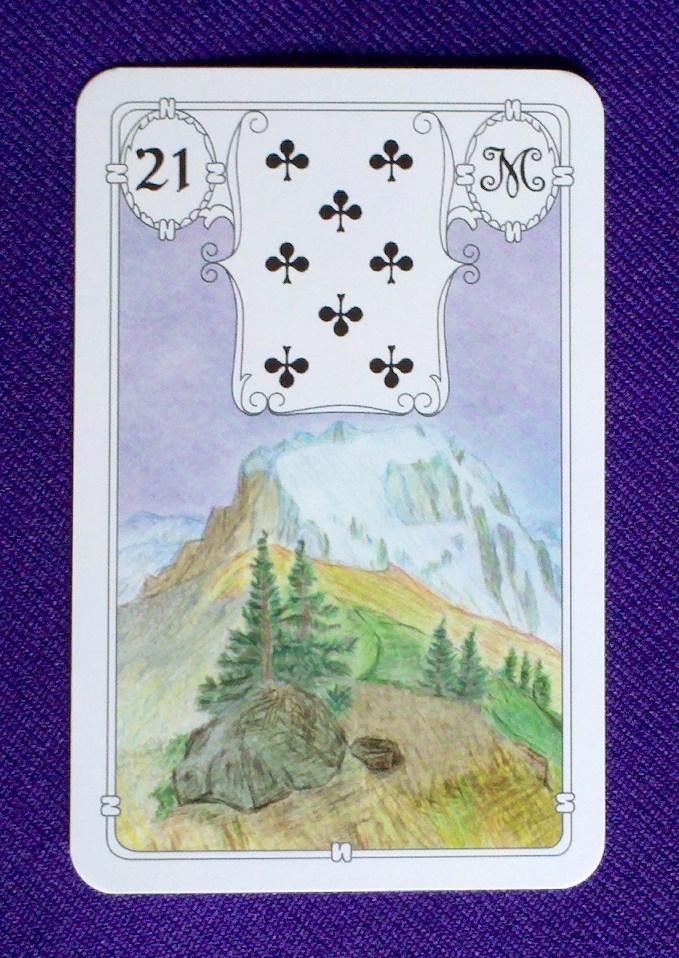 tarot cards lenorman interpretation