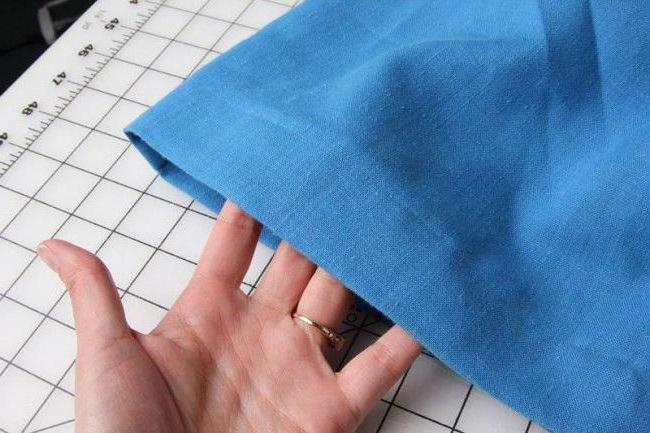 Незаметный шов для шитья