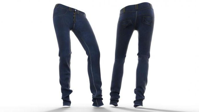 выкройка джинсов зауженные