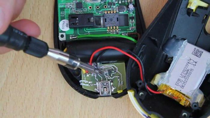как из беспроводной мыши сделать проводную инструкция