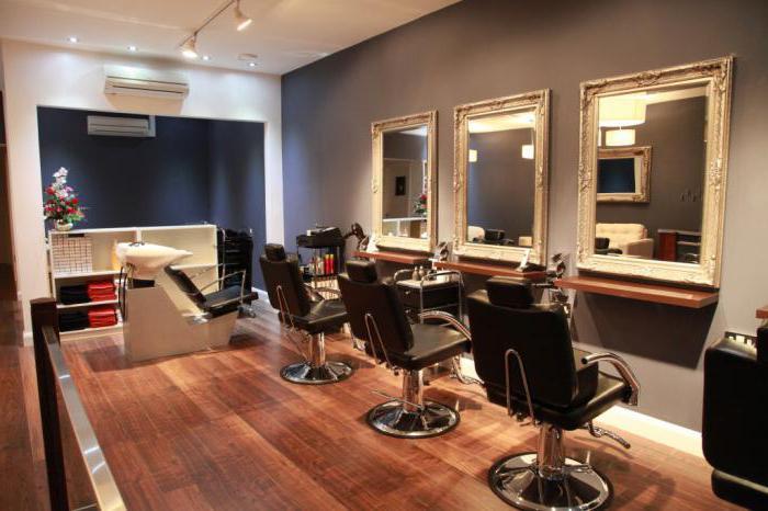 План парикмахерской картинка