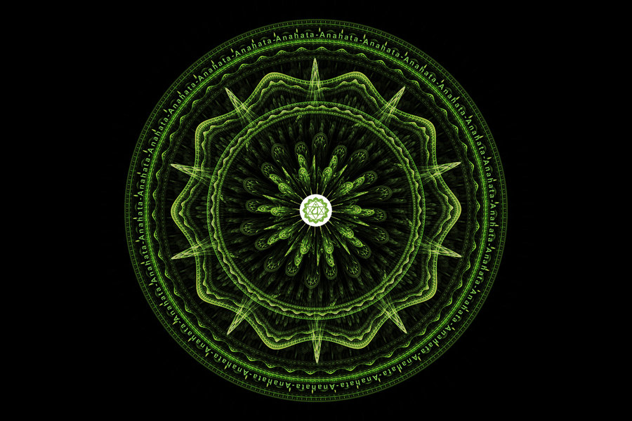 Original Anahata Mandala Vision