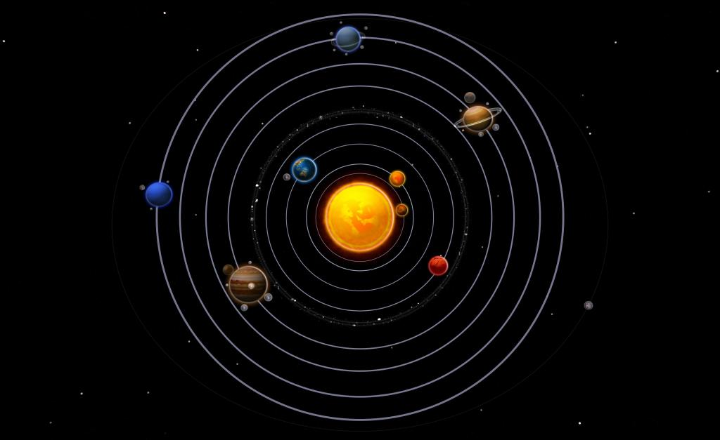 There is a subtle connection between the numbers and planets of the solar system