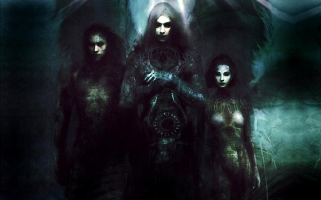 Gothic art is often rather gloomy.