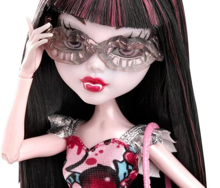 как сделать очки для кукол монстер хай