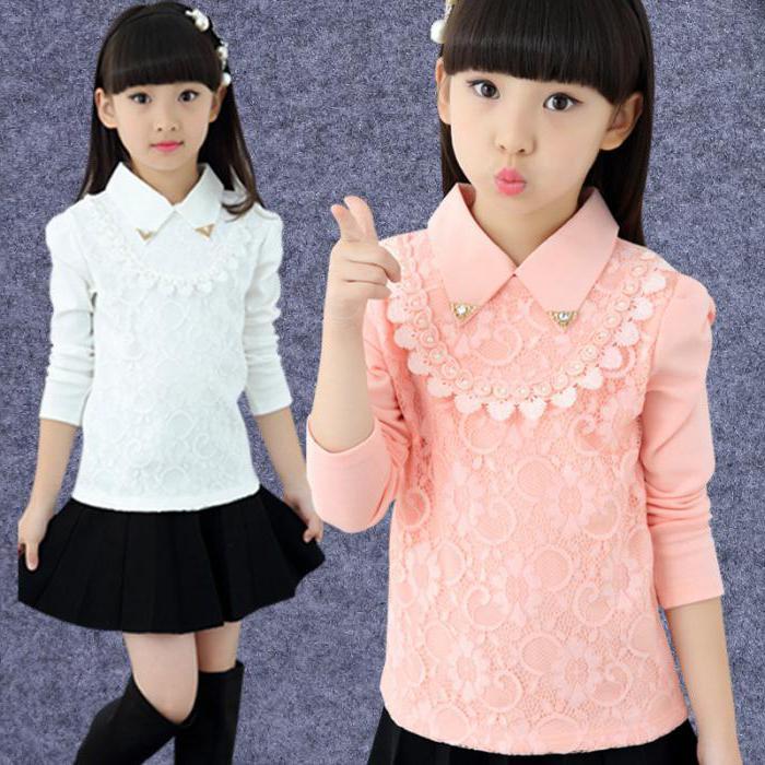 Блузки Школьные Для Подростков