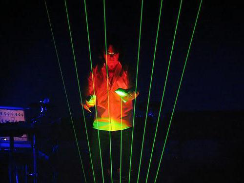 Лазерная арфа фото