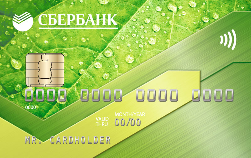 How are interest calculated on a credit card of Sberbank