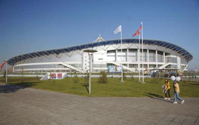 Дворец спорта в Крылатском.