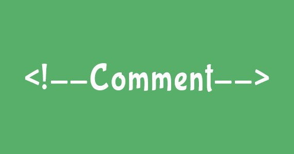 html закомментировать