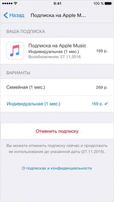 Как отменить подписку в AppStore на смартфоне и ПК? отписка
