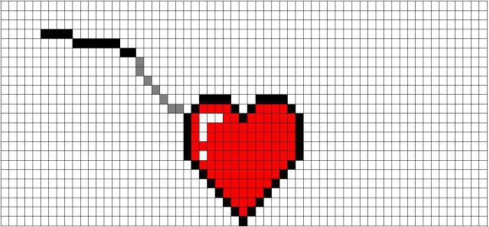Крыло для сердечка