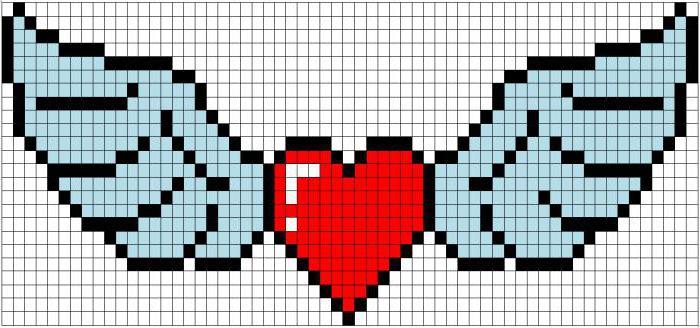 Раскрашенное сердечко