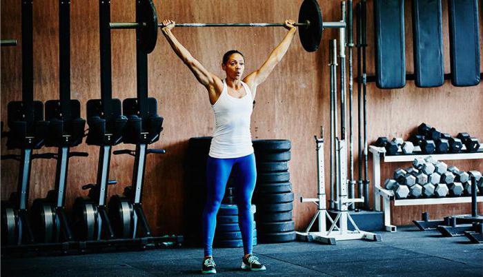 Упражнения фитнес для девушек