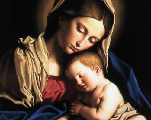 молитва богоматери о здоровье ребенка