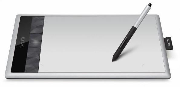 как пользоваться графическим планшетом bamboo