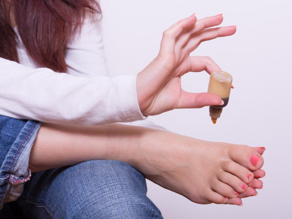 виды грибка стопы ног фото