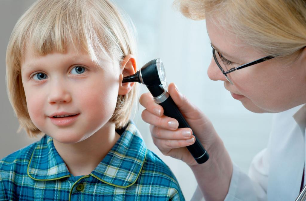 retracted eardrum