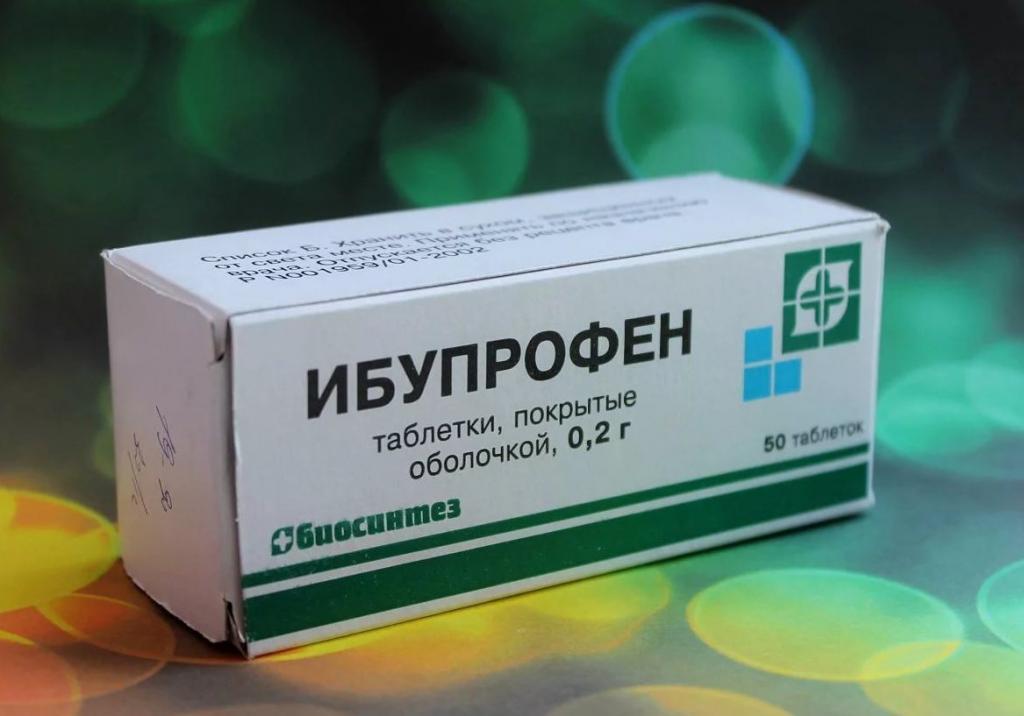 Сколько дней пить ибупрофен при артрите фото