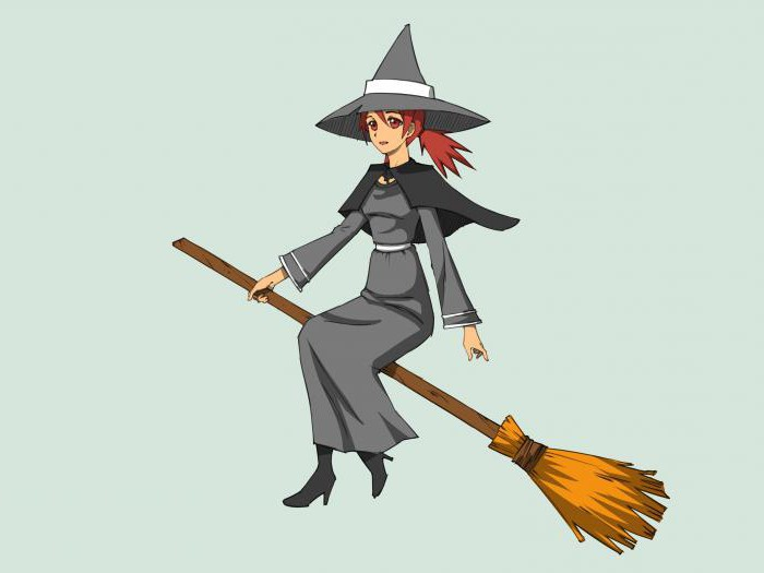 How to draw a witch: tools and step by step instructions