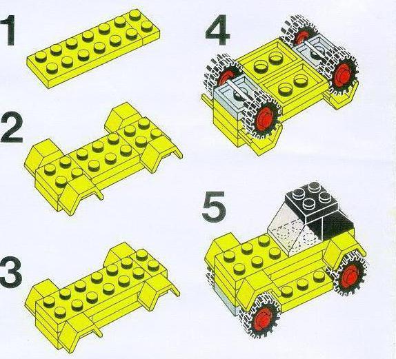 Схемы сборки конструктор лего