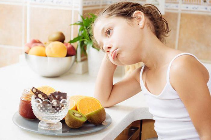 диета при запорах у детей 5 лет